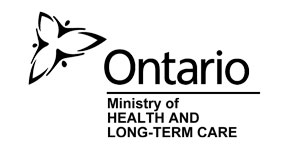 Logo for the Ontario Ministry of Health & Long Term Care